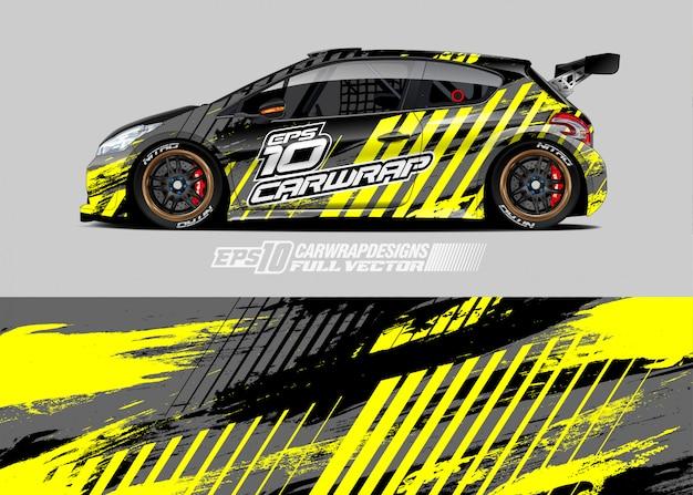 Rally car livery designs