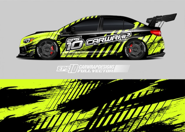 Rally car livery designs