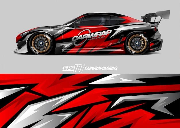 Rally car wrap designs