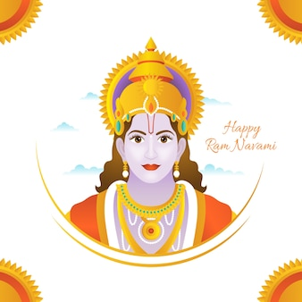 Ram navami illustration background