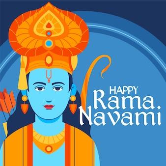 Ram navami with greeting