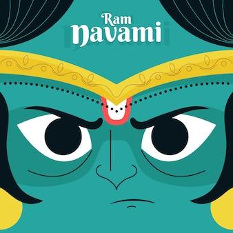 Ram navamiクローズアップアバター