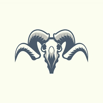 The ram skull icon