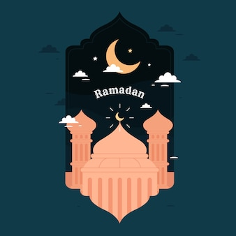 Ramadan background concept