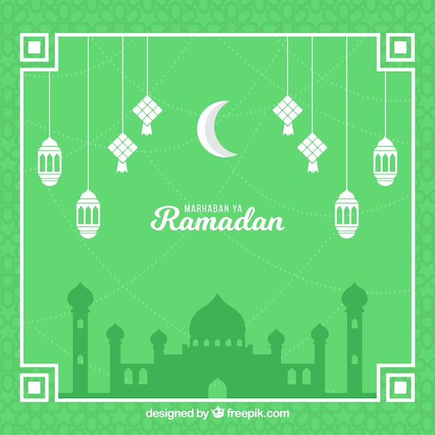 Free Ramadan Background With Mosque Silhouette Vector All New Svg To Png Convert Svg Files To Png Online