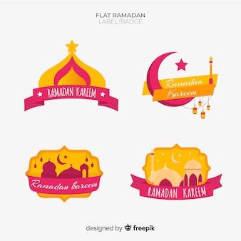 Ramadan badge collection
