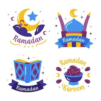 Ramadan badge pack