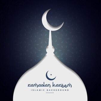 Рамадан фестиваль приветствие фон