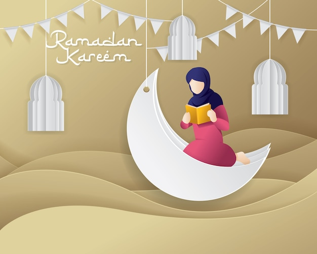 Ramadan greeting background
