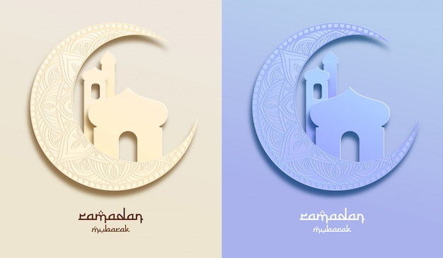 Ramadan greeting card and wallpaper