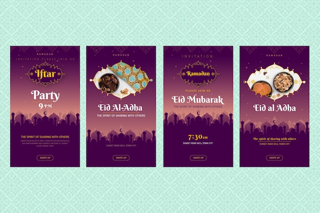 Ramadan instagram stories collection