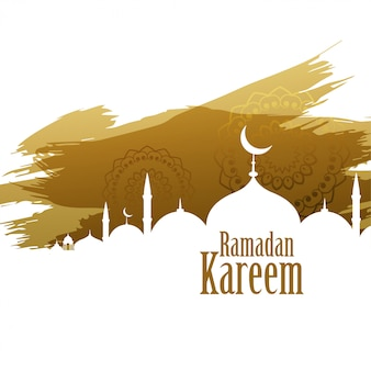 Ramadan kareem abstract style background