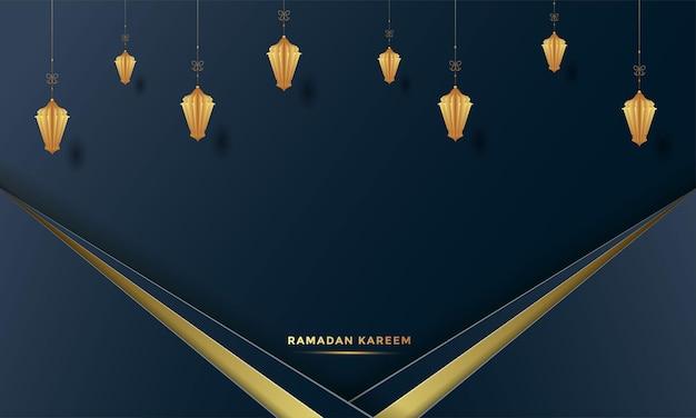 Ramadan kareem background   illustration