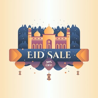 Ramadan kareem banner vector illustration