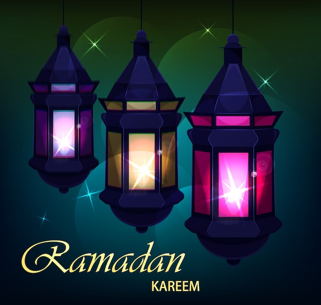 Ramadan kareem beautiful greeting card