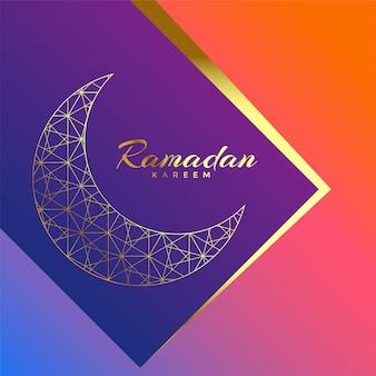 Ramadan kareem beautiful luxury greeting background