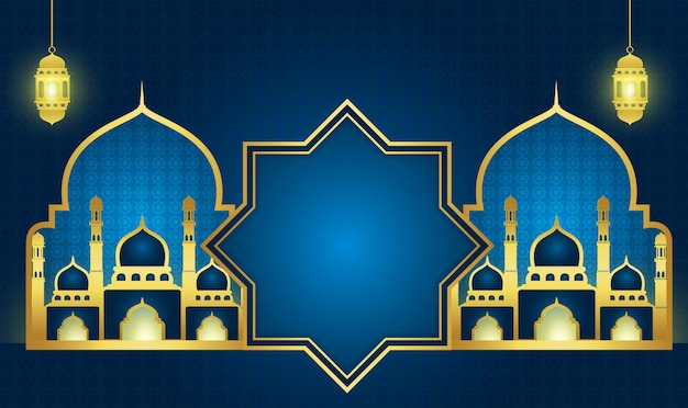 Ramadan kareem or eid mubarak background