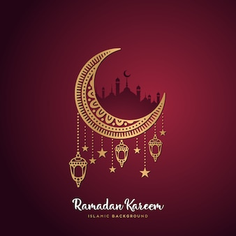 Ramadan vectors photos and psd files free download ramadan kareem greeting card m4hsunfo