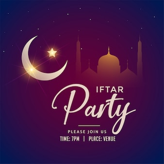 Ramadan kareem iftar party background