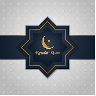 Ramadan kareem islamic background with pattern