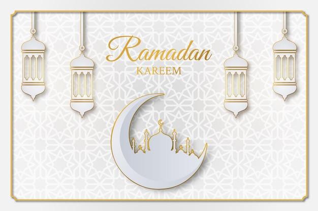 Рамадан карим исламский дизайн иллюстрации