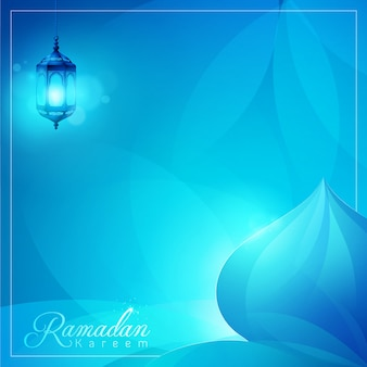 Ramadan kareem islamic vector design