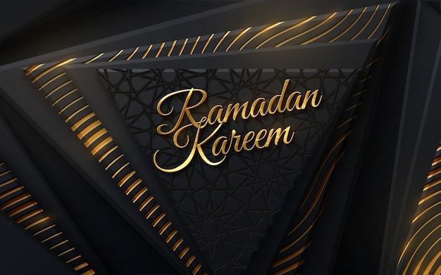 Ramadan kareem. modern cover design.   islamic illustration. holiday banner design. muslim holy month ramadan cover design.