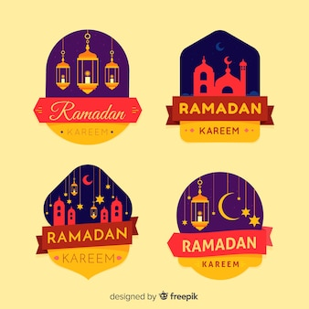 Ramadan  label collection