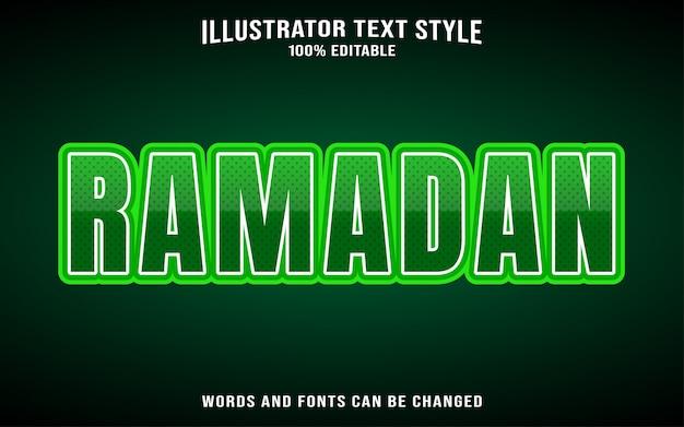 Рамадан стиль текста