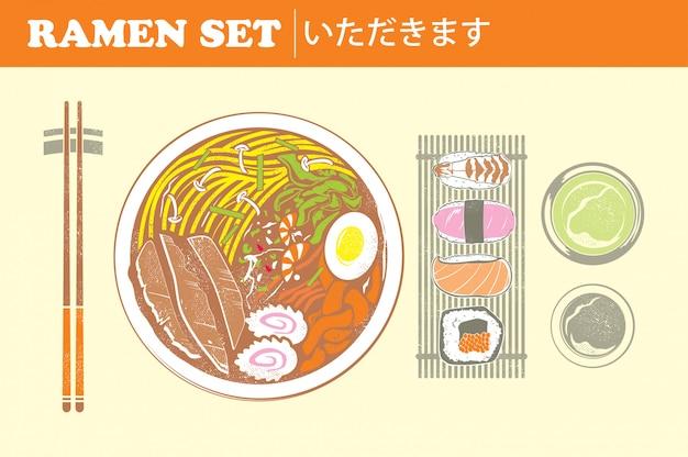 Ramen noodle set
