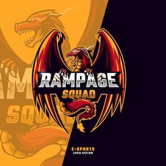 Rampage squad esport logo