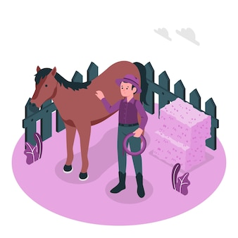 Rancher concept illustration
