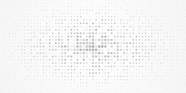 ランダムな色のドットパターンの背景、正方形の抽象的な幾何学