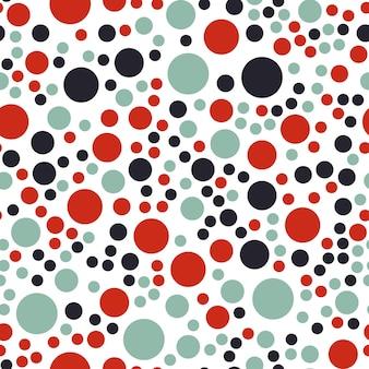 Случайный образец точек, фон абстрактных форм. простая геометрическая иллюстрация. креативный и роскошный стиль