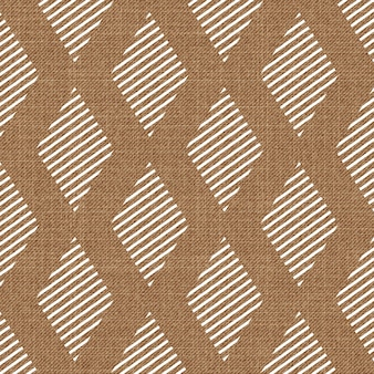 Random geometrical shape pattern on textile. abstract geometric background, vector illustration. creative and luxury style image