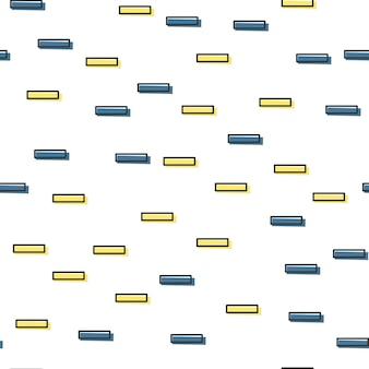 80年代、90年代のレトロなスタイルのランダムなラインパターン。抽象的な幾何学的な背景