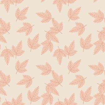 떨어지는 잎 무작위 원활한 자연 패턴입니다.