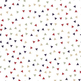 임의의 삼각형 패턴, 추상적인 배경입니다. 기하학적 간단한 그림입니다. 창의적이고 고급스러운 스타일
