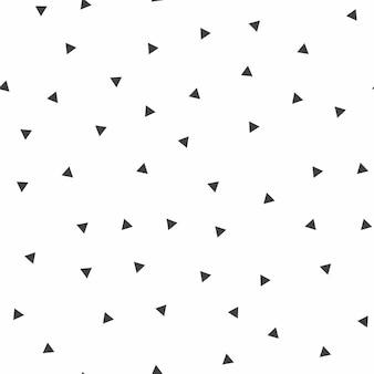 Случайный образец треугольников, абстрактный фон. простая геометрическая иллюстрация. креативный и роскошный стиль