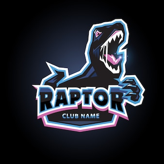 Raptor esports logo design