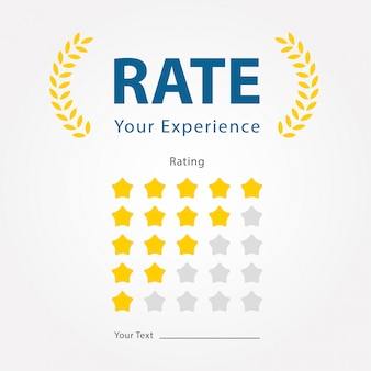 Rate your experience for reviews product,restaurant,company,hotel,website and mobile applications.