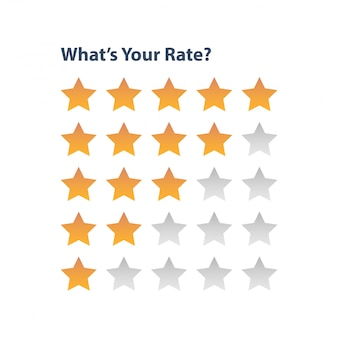 Rating star for review app