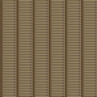 The rattan weaving seamless pattern