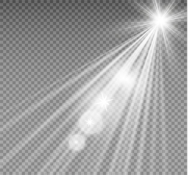 光線、ビーム、スポットライト。光の効果