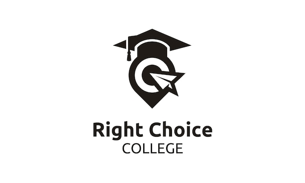 Reach the best for school/university/college/graduate logo
