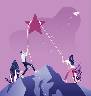 Reach starのビジネスチーム、ビジネスターゲットおよび開発コンセプト