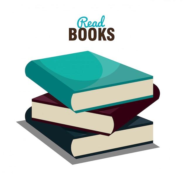 Read books  design