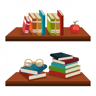 Read books  design