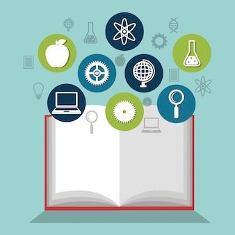 Reading books design