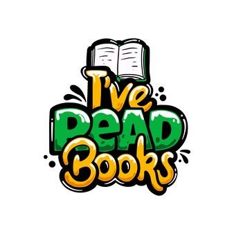Чтение книг хобби граффити надписи дизайн